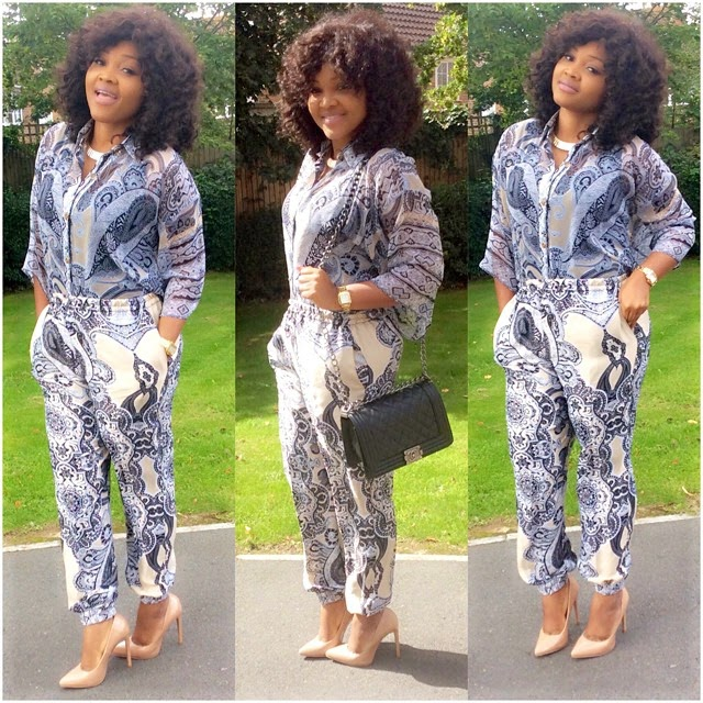 Mercy Aigbe's Lovely Sunday Outfit