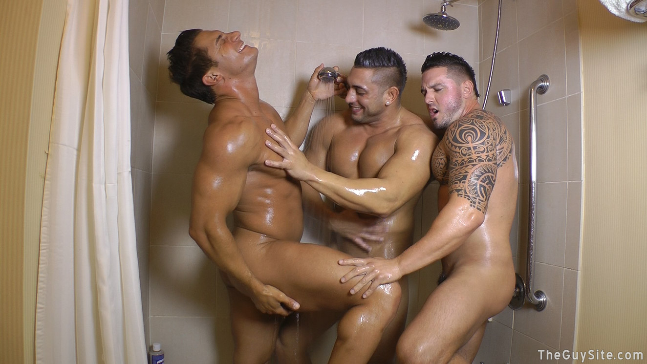 Friends Cumming Together