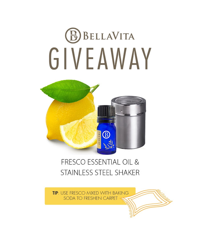 BellaVita Essential Oil Giveaway on Facebook!!