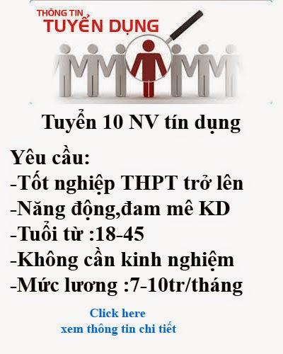 Ngân hàng IVPBank tuyển dụng nhân sự