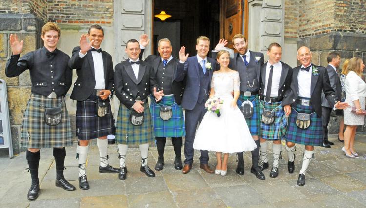 kronprinsen bryllup kirke