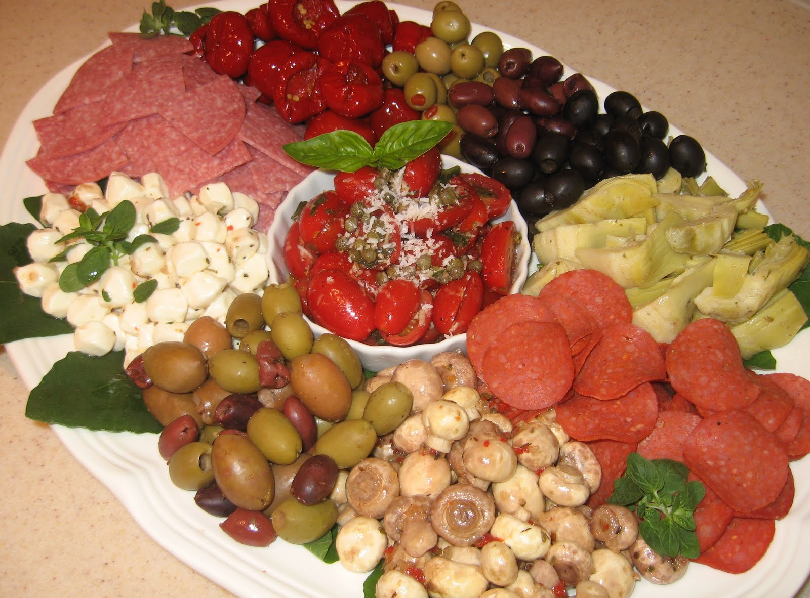 The Kitchen Is My Playground Antipasto Platter With Grape