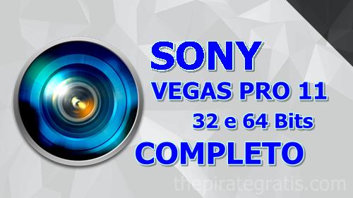 Sony Vegas Pro 11 + Crack Completo via Torrent