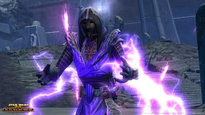 Channeling Lightning in Exotech Armor