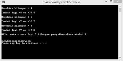 Perulangan While Pada C++