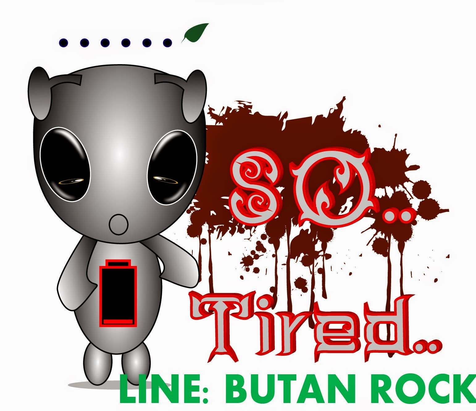 ฺButan Rock  Line Stickers Store