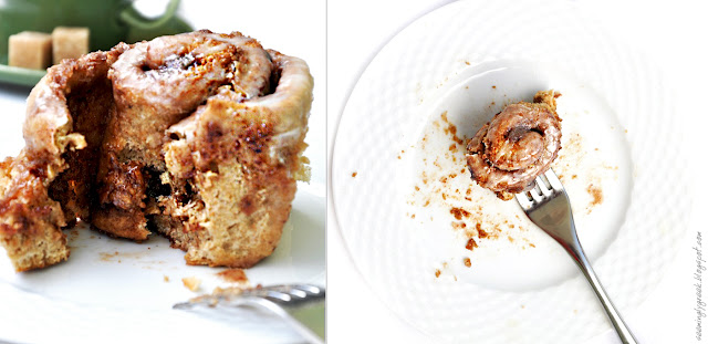 cinnamon roll double Whole Wheat Cinnamon Rolls