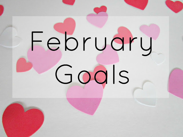 February Goals | from Courtney's Little Things