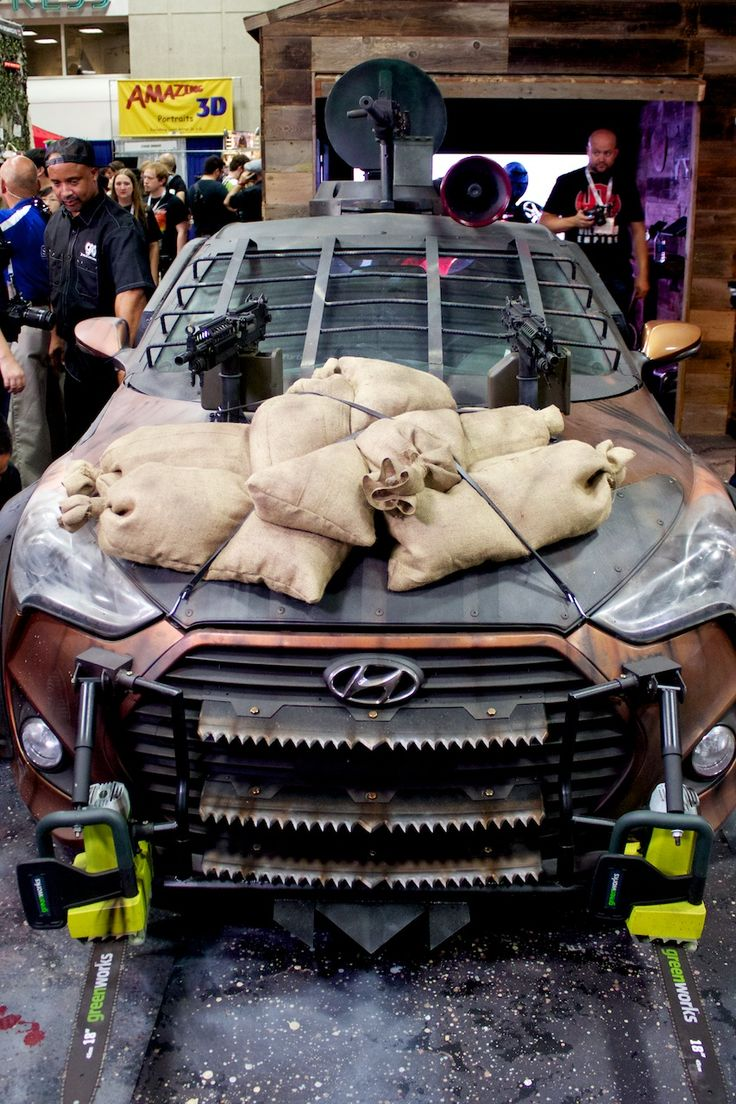 Sasaki Time Hyundai Zombie Survival Machine Revealed