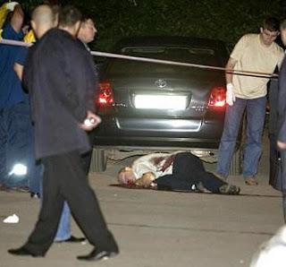 Joseph Brice, meurtre en Russie