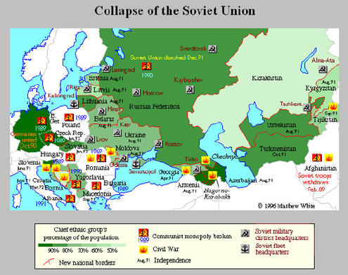 soviet union collapsed thesis In 1991, when the soviet union collapsed, it was too late in the year for many church groups, who typically send groups of laypeople during summer months to do outreach and charitable work, to make a huge impact.