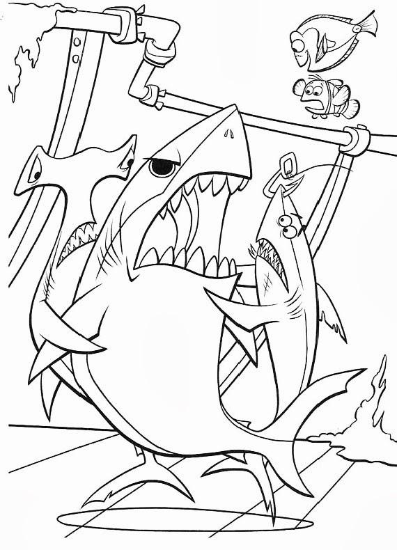 Disegni da colorare nemo for Nemo disegni da colorare