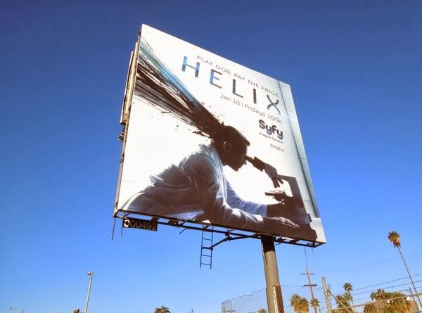 Helix Syfy billboard