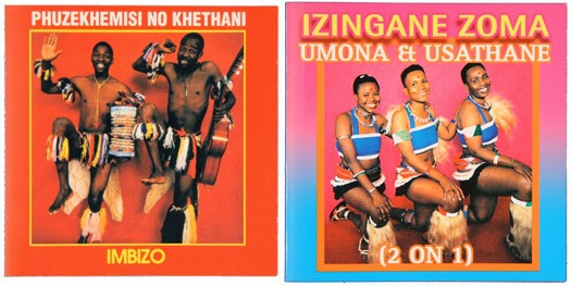 Zulu iconography also emerged in other genres for exle on this 1986