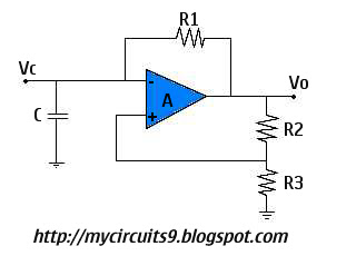 astable multivibrator using op amp mycircuits9astable multivibrator using op amp