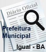 Diário Oficial de Iguaí