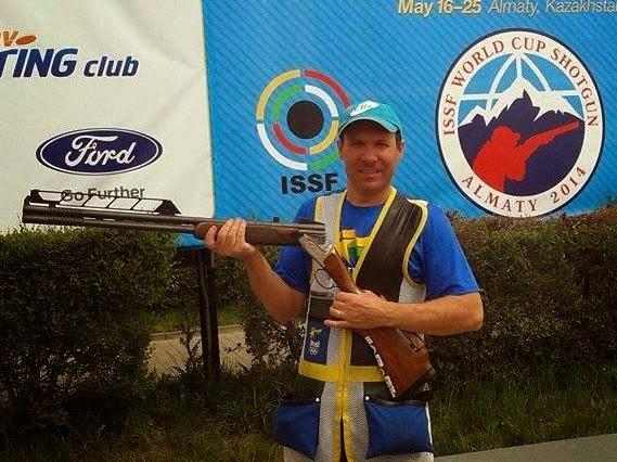 Jaison Santin (Fossa Double) fica em 12º na etapa da Copa do Mundo disputada no Cazaquistão - Foto: Divulgação/CBTE