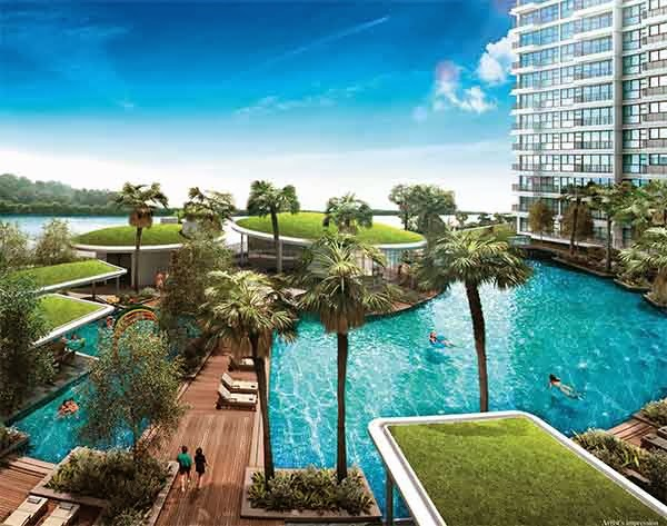 Rivertrees Residences Pool