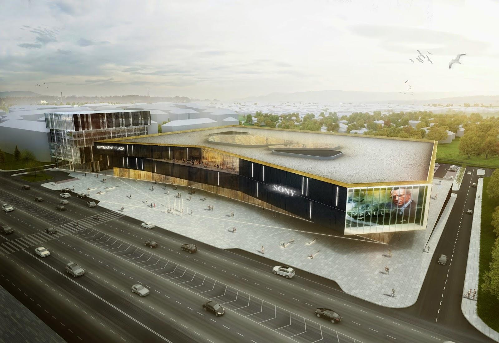 Pedro Dias Rchitect Shopping Mall Amp Bank Hq In