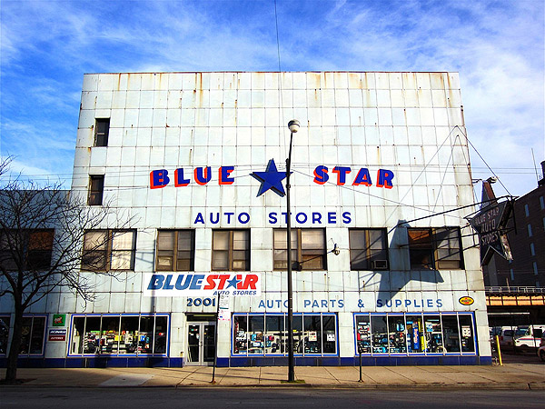 Star Auto Parts >> Sloopin A South Loop Blog The History Of That Blue Star