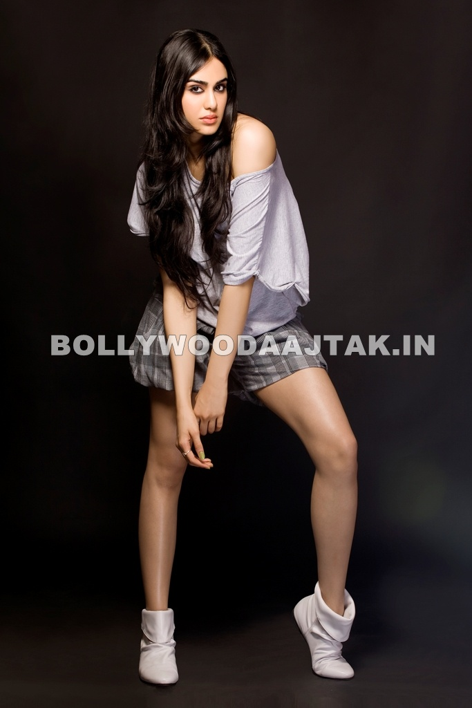 Adah Sharma in short skirt - Adah Sharma Images - HOT Photoshoot