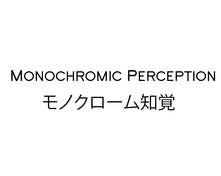 Monochromic Perception