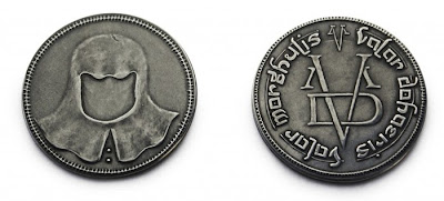 moneda hombre sin rostro valar morghulis - Juego de Tronos en los siete reinos