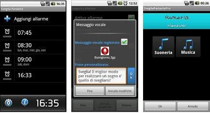 APP ANDROID SVEGLIA CHE PARLA GRATUITA PER SMARTPHONE E TABLET