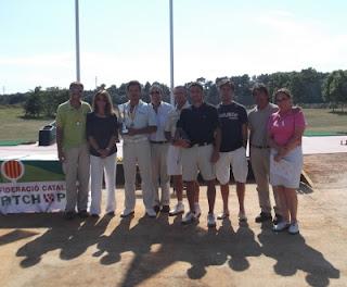 Primeros Clasificados Campeonato Cataluña Absoluto de Pitch & Putt 2012