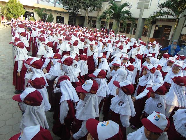 130 Siswa Baru SDMT Mengikuti MOS Tahun Pelajaran 2015-2016