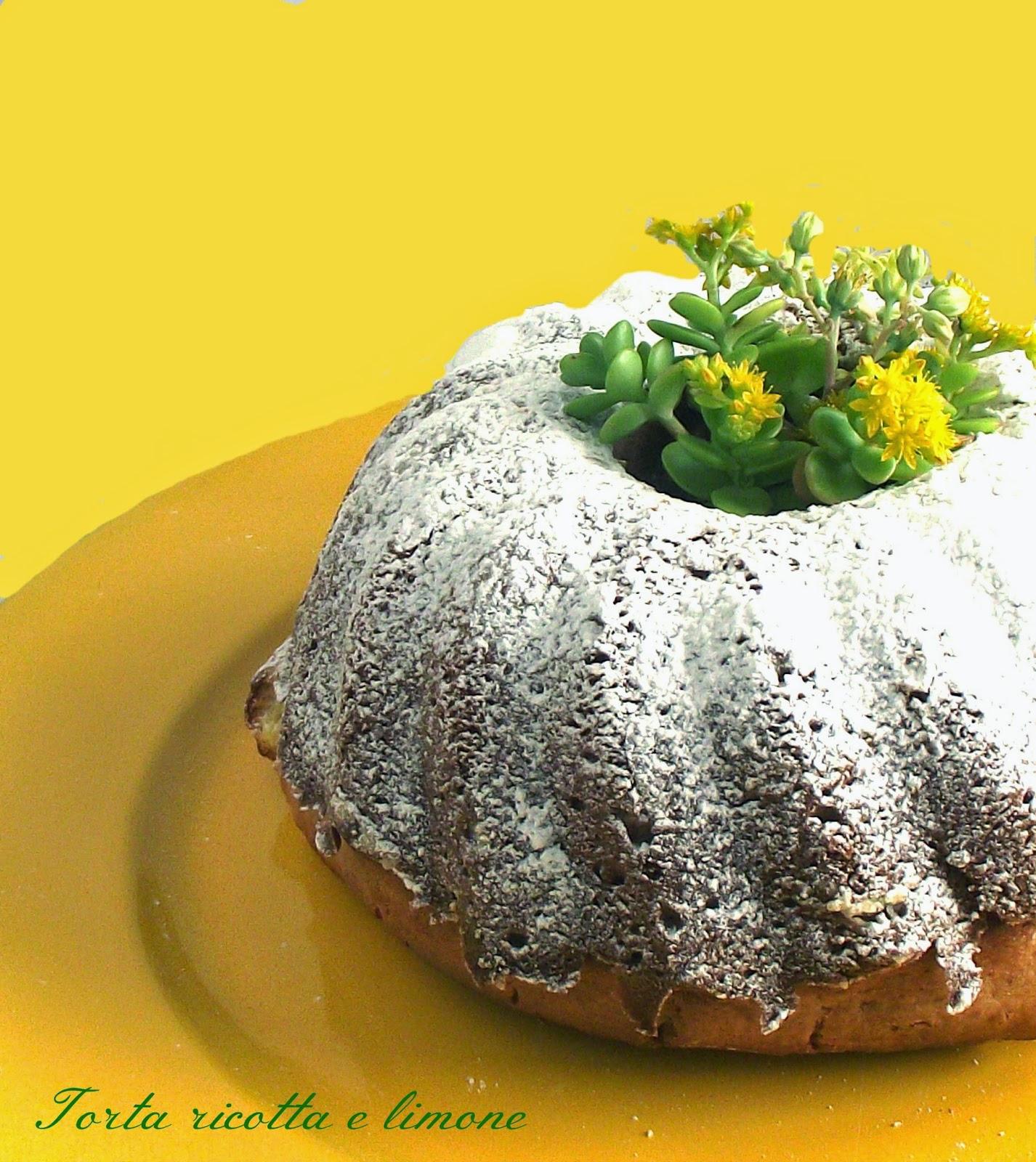la torta ricotta e limone e un acido omicidio