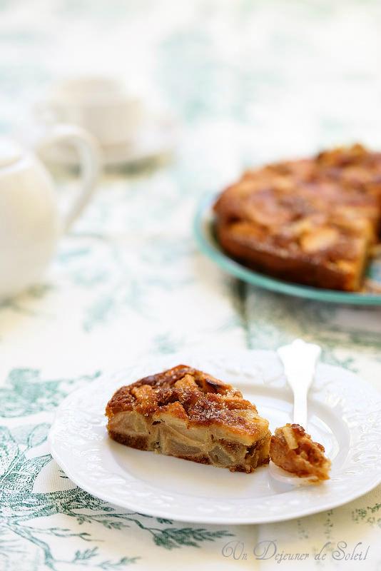 Gâteau moelleux très pomme
