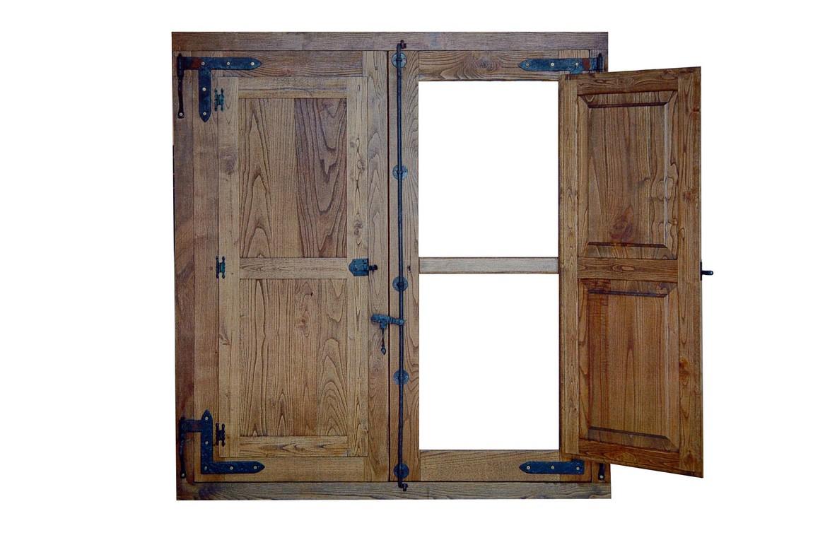 Carpinteria de madera corriols artesanos de hervas ventanas for Ventanas en madera