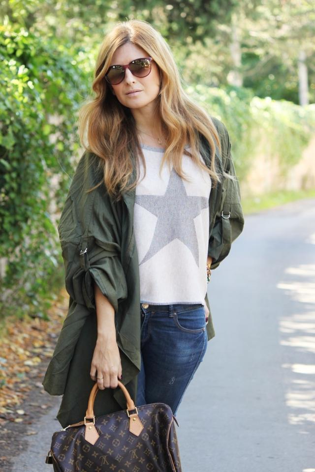 Jersey Bloglovin' A Trendy Estrella De Verde Life Y Parka E7qR6R