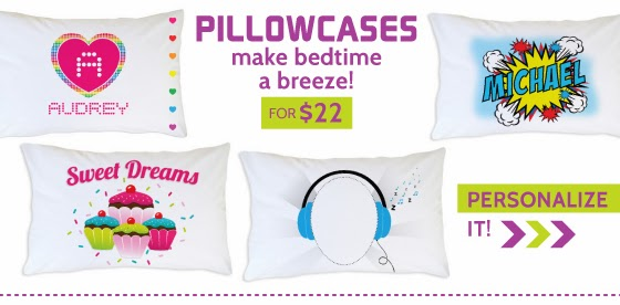 Shop Personalized Pillowcases for Kids