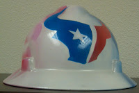 Houston Texans Hard Hat Front