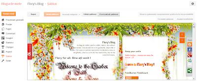 noul sablon pentru editare HTML