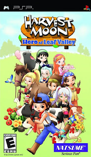 Free Download Games Harvest Moon Hero of Leaf Valley PPSSPP ISO Full Version  ZGASPC