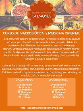 CURSO DE MACROBIÓTICA Y MEDICINA ORIENTAL 2015/2016