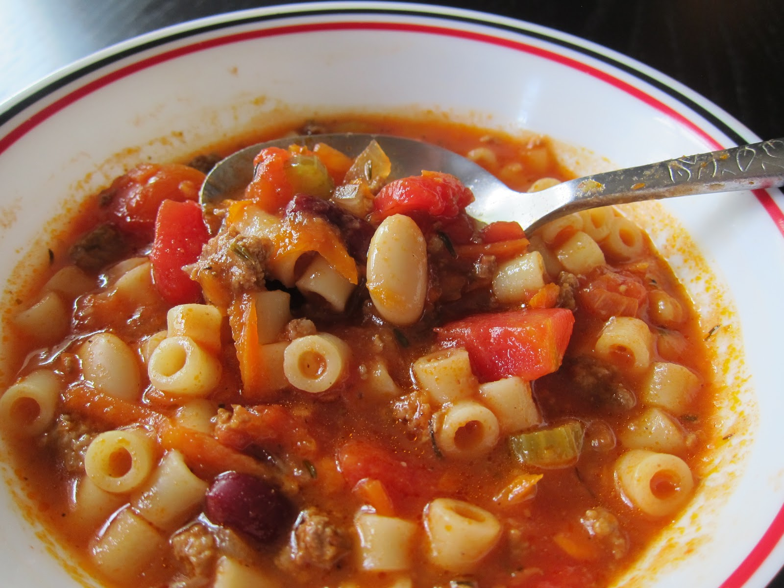 Andrea The Kitchen Witch: Pasta e Fagioli