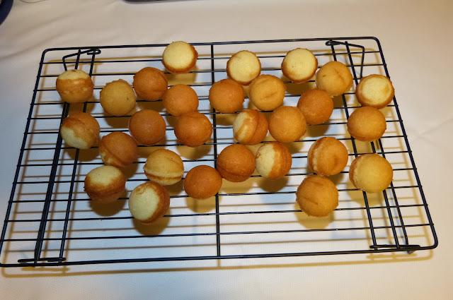 Cake pops en máquina