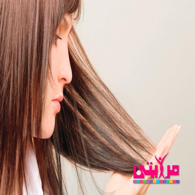 علاج الشعر المتقصف فى شهر واحد