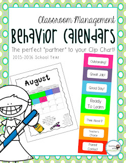 https://www.teacherspayteachers.com/Product/Clip-Chart-Behavior-Calendars-2015-2016-School-Year-1998283