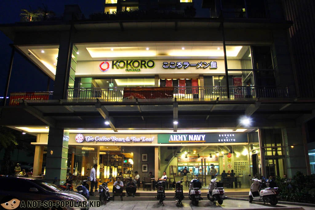 Kokoro Ramenya (Japanese Restaurant) along Roxas Boulevard