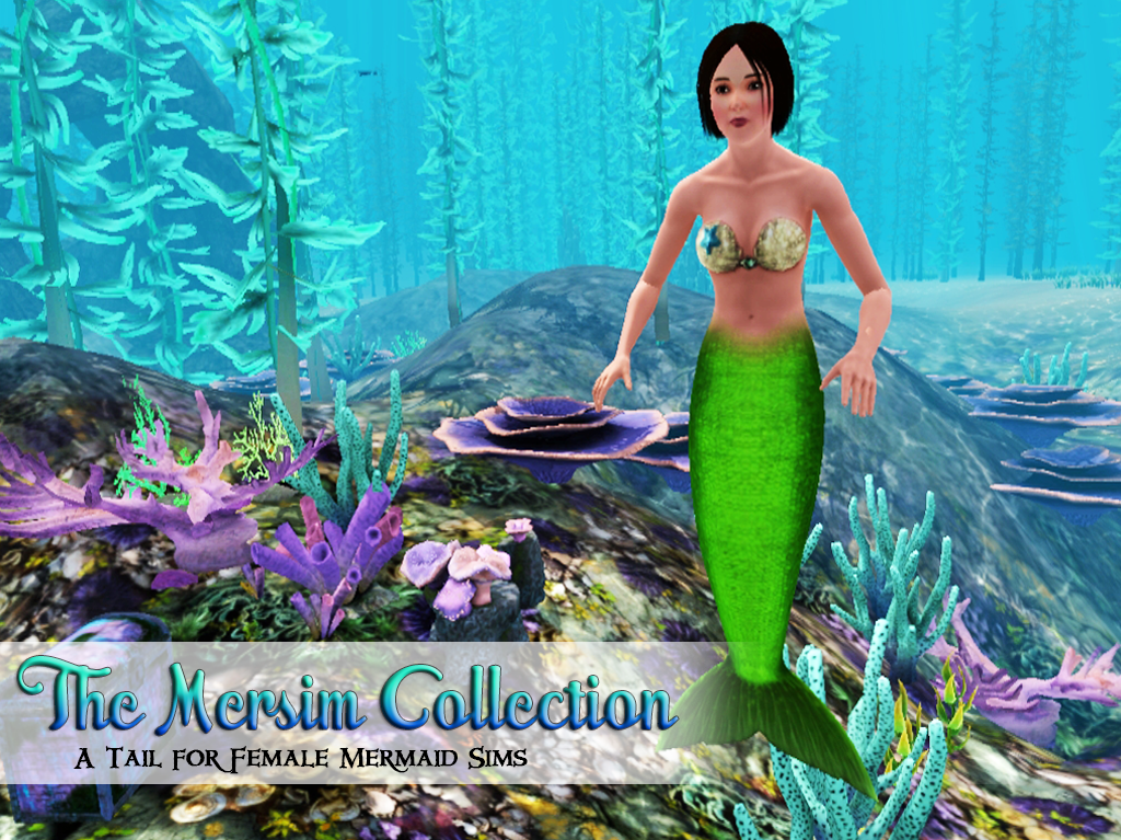 sims 3 how to make a mermaid