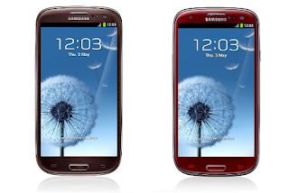 Red and Brown Themed Samsung Galaxy Note II
