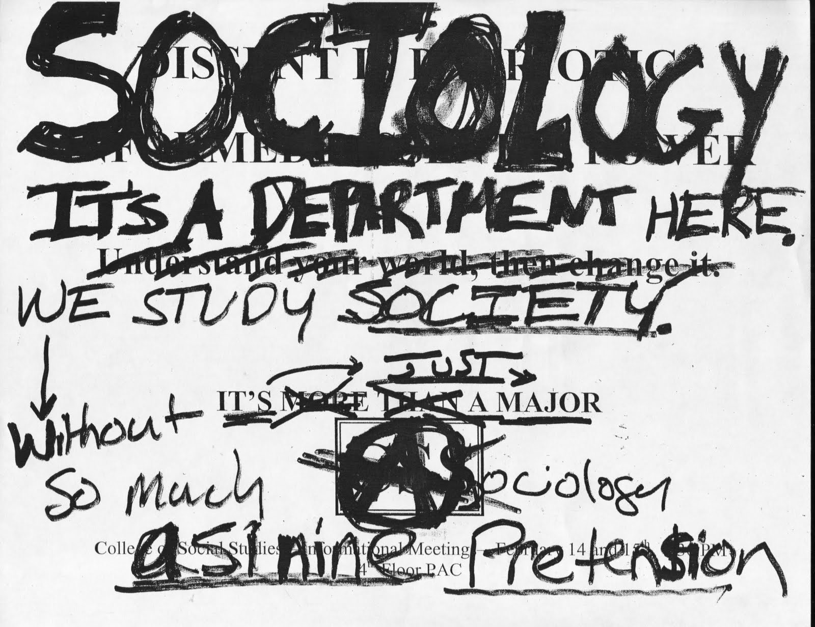Wesleyan Poster Archive: Sociology Department, 2004