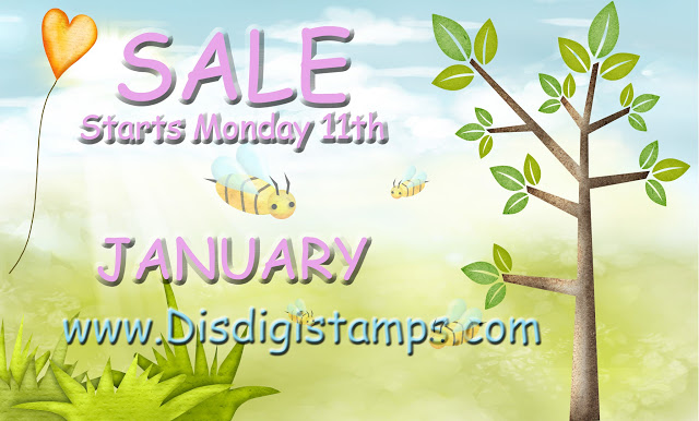 Di's DigiStamps Sale starts 11th Jan
