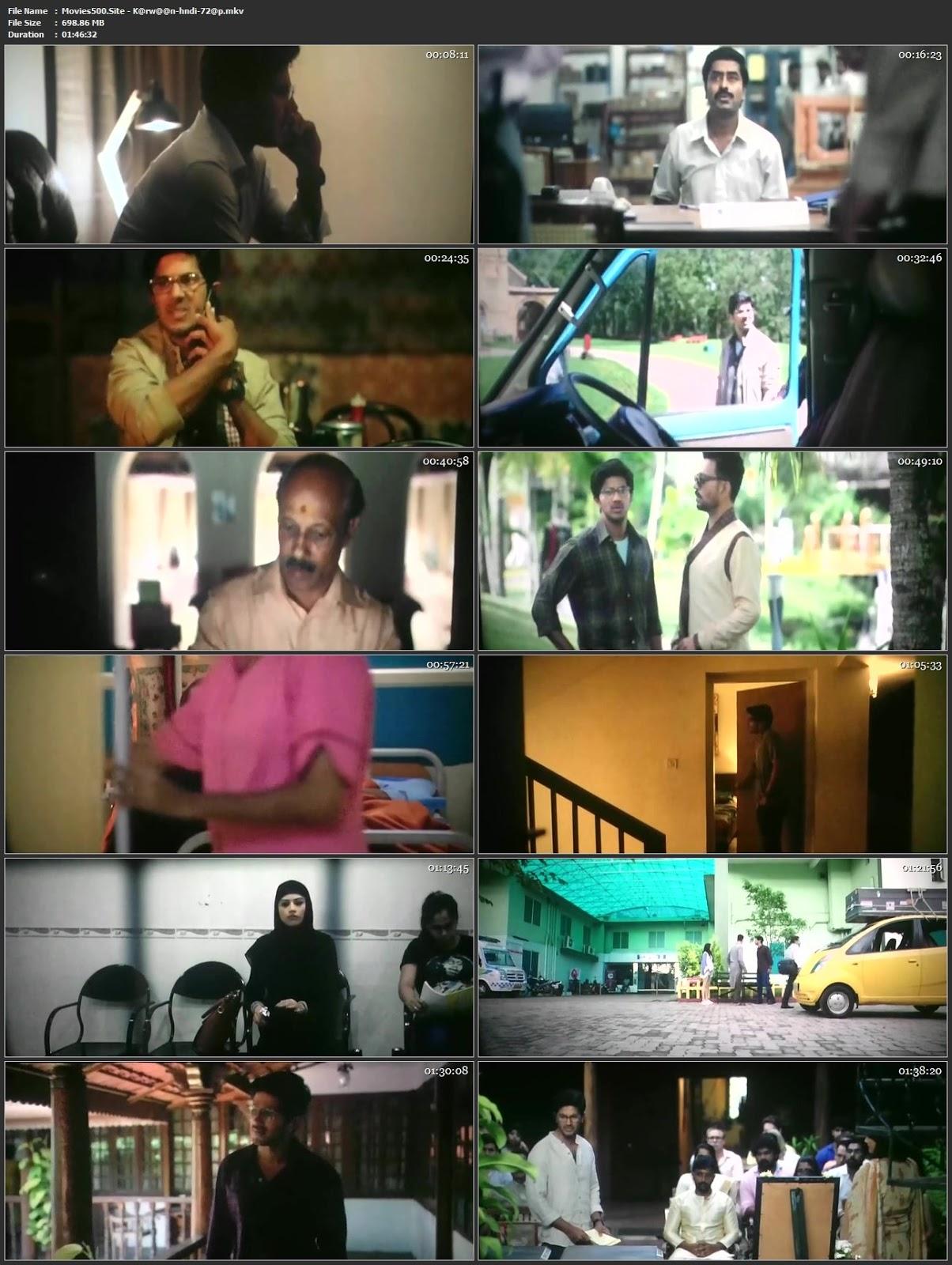 Karwaan 2018 Bollywood 300MB Movie pDVDRip 480p
