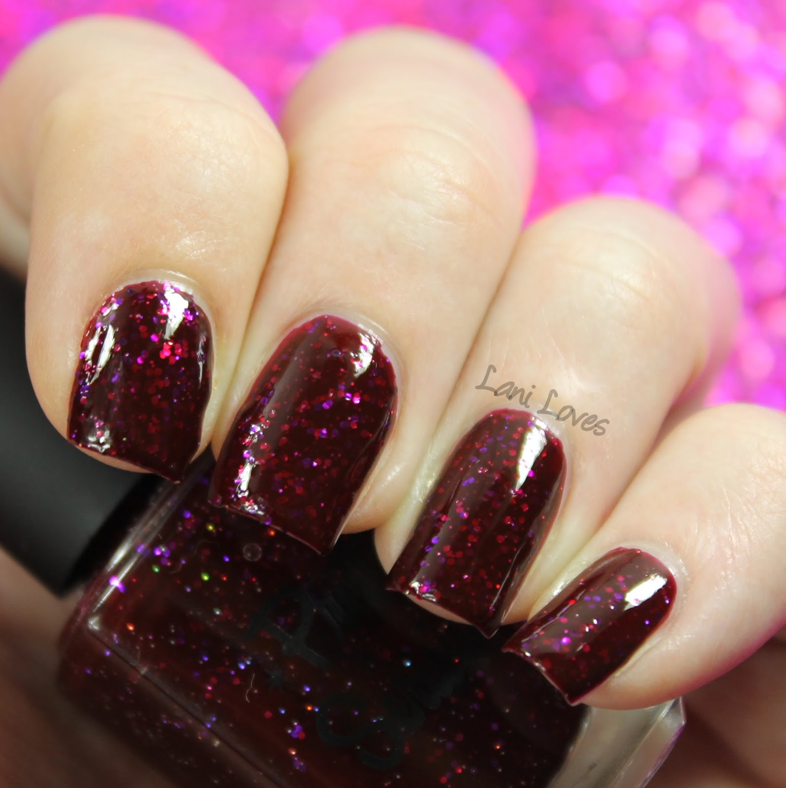 Pretty Serious Bloody Bride swatch